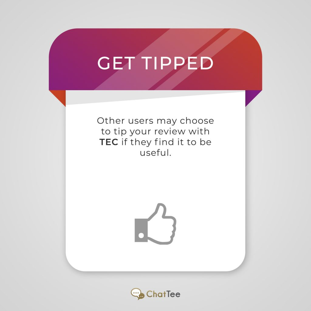 ChatTee – Tipped