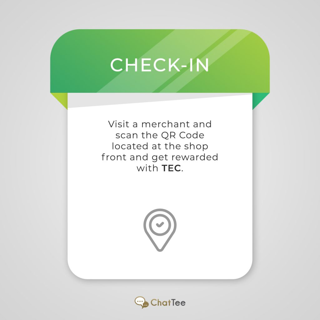 ChatTee – Check-in