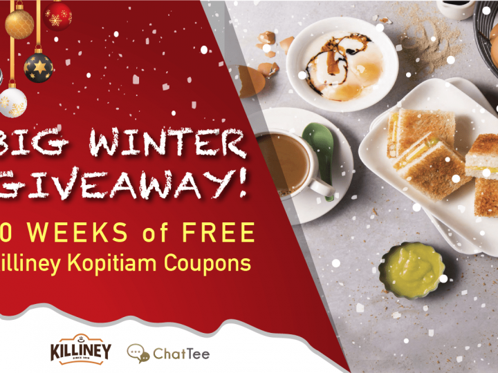 10 Weeks of Killiney Kopitiam Coupons!