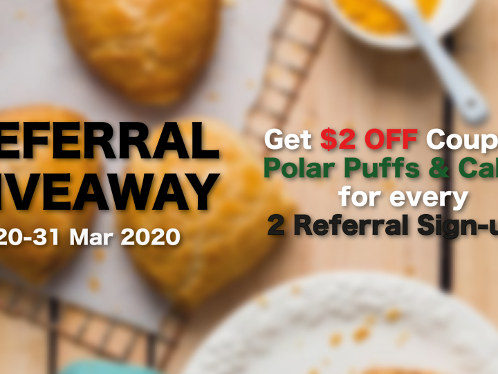Referral Giveaway