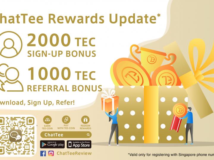 ChatTee Rewards Update