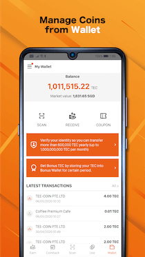 manage with wallet-small